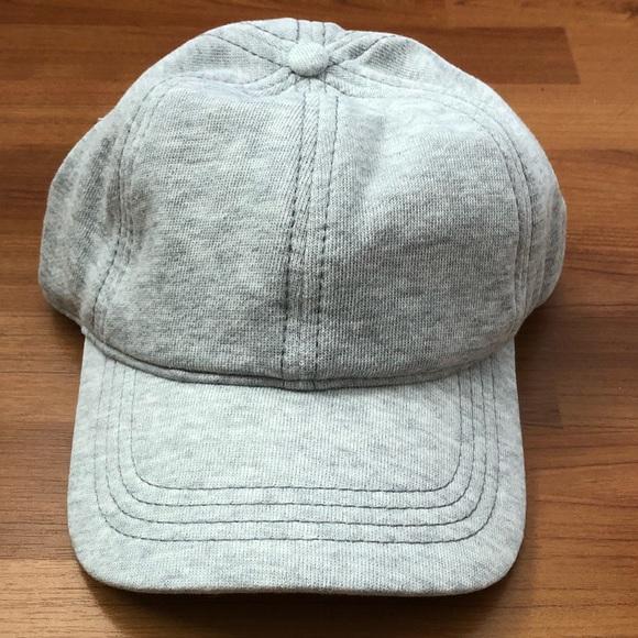 8cb7e368c64 •AERIE AMERICAN EAGLE• Grey Flannel Baseball Cap